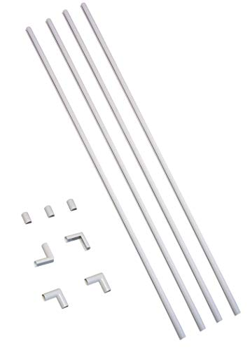 Cable Concealer On-Wall Cord Cover CordMate Kit - Legrand CMK10 Cable Management System, Cord and Wire Organizer for Computer and TVs, Hide Cables at Home or Office, White