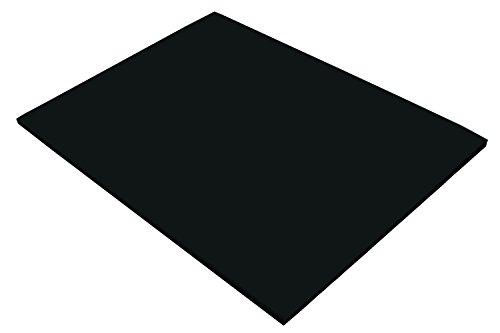 Riverside 3D Construction Paper, Black, 18