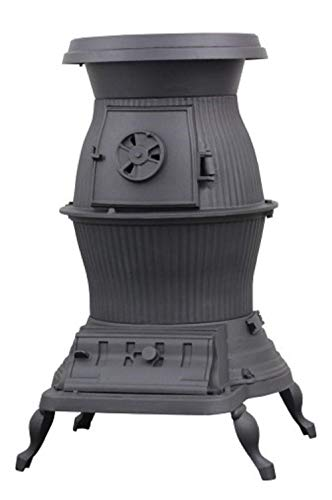 - US Stove 1869 Railroad Potbelly Coal Stove