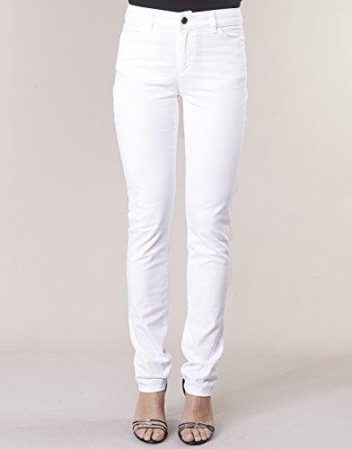 Pocket Armani Blanc 5 Femmes Jeans Slim Blanc fit RExEqrZwP