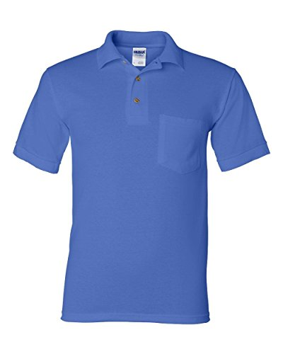 Gildan Men's DryBlend Jersey Polo with Pocket (Classy Outfits For Men)