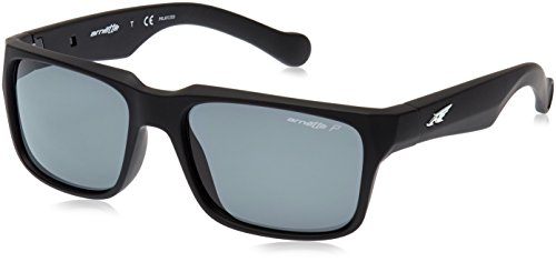 Arnette D-Street Unisex Polarized Sunglasses - 447/81 Fuzzy Black/Fuzzy - Sunglasses Polarized Arnette