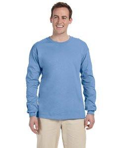 Gildan 6.1 oz. Ultra Cotton Long-Sleeve T-Shirt, Carolina Blue, XL