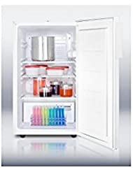 Summit FF511LMEDADA Refrigerator, White