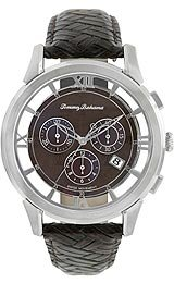 Tommy Bahama Swiss Men's TB1231 Grenada Brown Transparent Dial Chronograph Watch - Dial Chronograph Transparent Case
