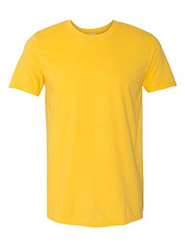 - Gildan Mens Short Sleeve Soft-Style T-Shirt (3XL) (Daisy)