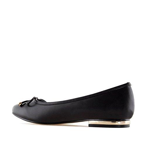 Andres Machado TG107 - Loafer mit gleichfarbiger Schleife.EU 42 bis 45 Soft Schwarz