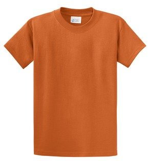 - Port & Company Cotton Short-Sleeve T-Shirt (PC61) Available in 52 Colors 6X Texas Orange