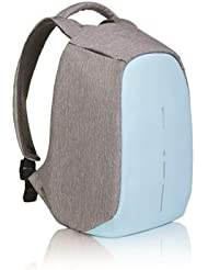 Bobby Compact Anti-Theft Backpack by XD Design, Pastel Blue