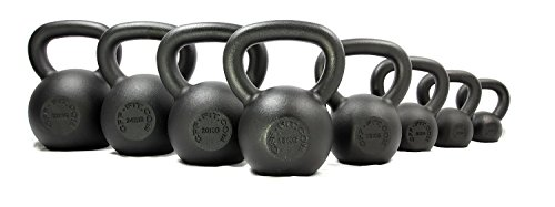 CFF Powder Coated Russian Kettlebell, 28kg