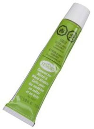 Testors Wood Glue Fast Drying 5/8 oz Green Tube
