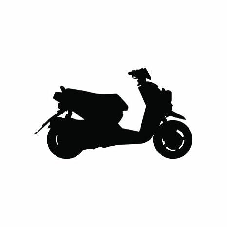 Amazon.com: Yamaha Zuma 125 – Patinete, – Adhesivo – Die Cut ...