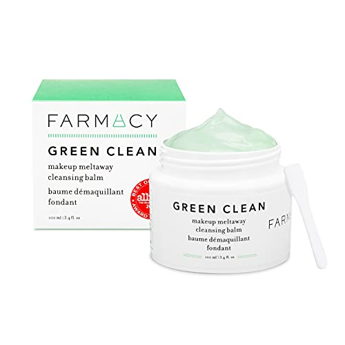 Farmacy Natural Makeup Remover – Green Clean Makeup Meltaway Cleansing Balm Cosmetic