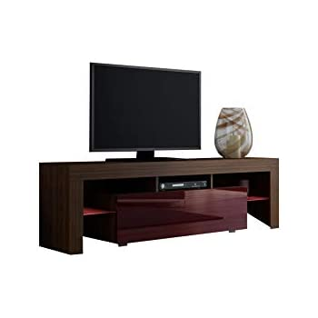 Concept muebles tv stand milano 160 modern for Muebles tv amazon