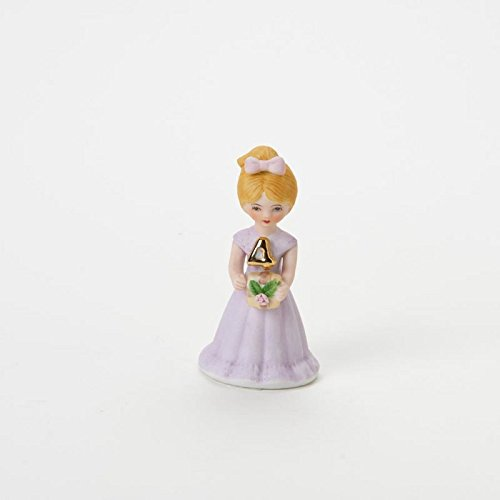 Growing Up Girls Enesco Age 4 Figurine Blonde (Porcelain Age 4 Figurine)