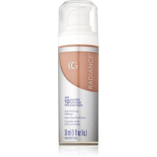 CoverGirl Advanced Radiance Age-Defying Makeup, Creamy Beige [150], 1 oz (Pack of - Radiance Age Makeup Defying Advanced