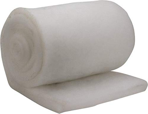 MERV 4 Made in USA 72/% Arrestance Efficiency 65 Long x 57 Wide x 3//4 Thick Synthetic Air Filter Media Roll 6 Pack