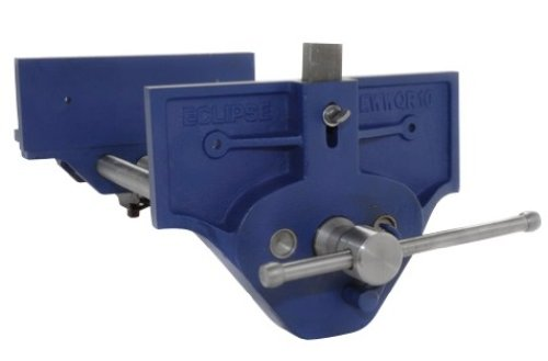 Eclipse EWWQR9-NA Quick Release Woodworking Vice, Gray Cast Iron, 9'' Size
