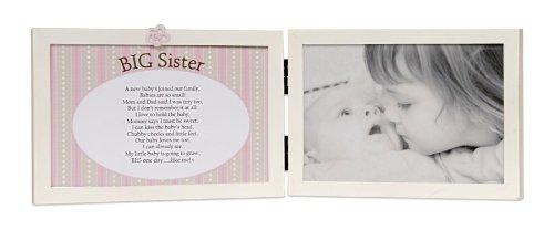 The Grandparent Gift Co. Sweet Something Frame, Big Sister