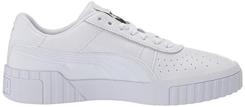 PUMA Women's CALI Sneaker White, 8 M US