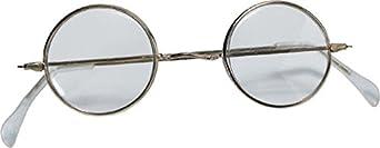 Rubie's Adult Novelty Round Santa Glasses Metallic One Size Rubies Costumes - Apparel 426