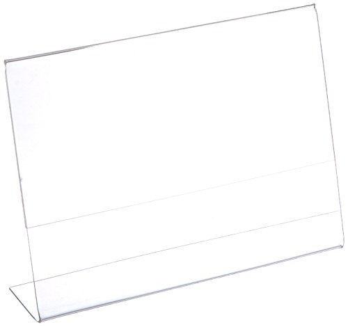 Acrylic Holder Plastic Slanted Picture