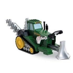 John Deere Double Duty Terra-Tiller 2 in 1 Tractor to Plow