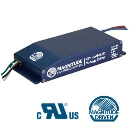 Magnitude Lighting Converters E60R24DC 60W 24VDC Voltage Dimmable Class 2 LED Driver by Magnitude Lighting Converters