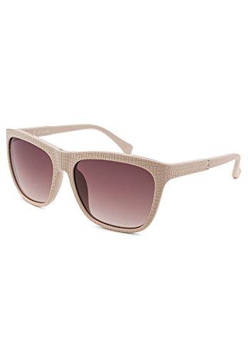 Calvin Frame Klein (Calvin Klein CK3151S-318 Women's Wayfarer Beige Reptile Print Sunglasses)