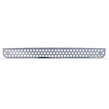 Ferreus Industries Polished Stainless Circle Punch Grille Grill Insert Trim  fits: 2005-2010 Hummer H3 TRK-132-03