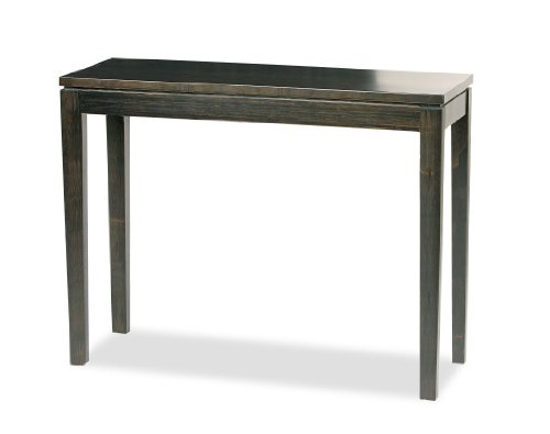 Bamboogle - Black Entrance Table - Harder than Oak - Narrow Console Table Carved Wooden Vanity