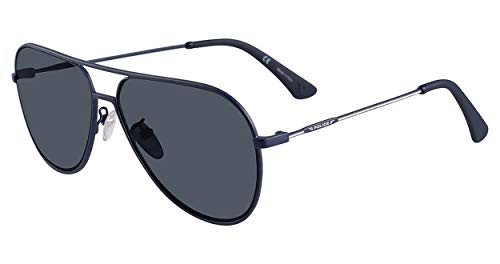 - Police Men's Spl365 Polarized Square Sunglasses, Blue, 57 mm
