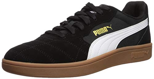 PUMA Men's Astro Kick Sneaker White-teamgold/Black, 8 M US