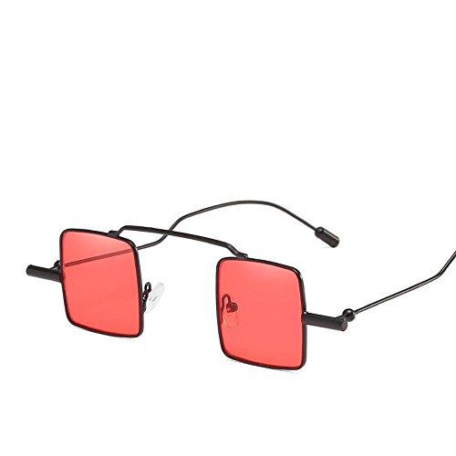 gafas de decorativo A marco reflectantes personalidad gafas Retros sol sol sol sol chica de de hombre gafas pequeña Aoligei caja ZPvfq