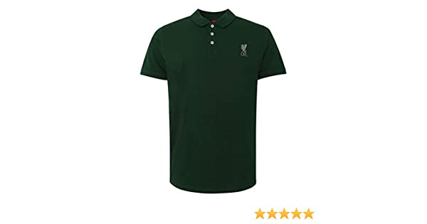 Liverpool FC Polo LFC Hombre Verde Bosque Conninsby LFC Oficial ...