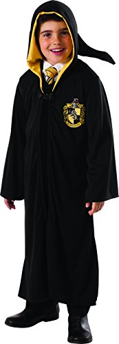 Rubie's Costume Harry Potter Deathly Hallows Child's Hufflepuff Robe, One Color, (Harry Potter School Girl Costume)
