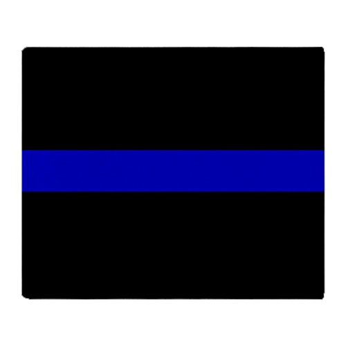 Police Throw - Police Thin Blue Line Fleece Back The Blue Lives Fleece Police Live Matter 50x60 Polar Fleece Blanket Throw