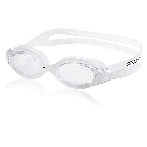 (Speedo Hydrosity Swim Goggle, Clear, One Size)