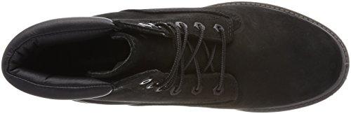 Timberland Damen Waterville Basic 6 Inch Kurzschaft Stiefel Waterproof Schwarz (Black)