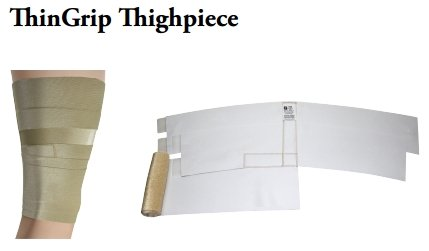ThinGrip Custom Thighpiece - Wrap-Around Kneepiece by FarrowMed LLC