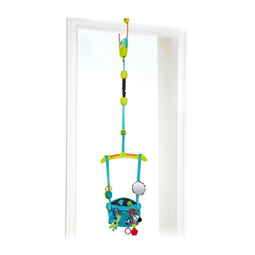 Bright Starts Bounce 'N Spring Deluxe Door Jumper, Blue by Bright Starts