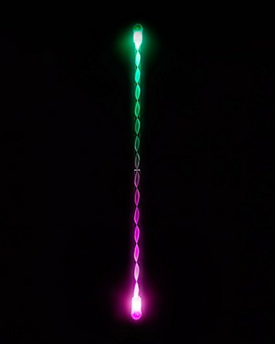 EmazingLights Elite Flow Levitation Wand - Short String Light Up LED Toy