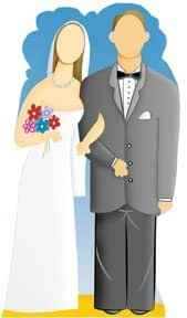 Wedding Couple Life-Size Poster Stand Ins