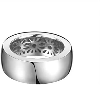 ESPRIT Women's Ring 925 Sterling Silver Rhodium Plated Purity