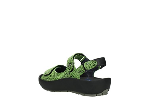 Lacets À Winter Chaussures Wolky crash lime suede Dive 475 nRwEqxT