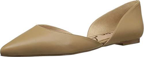 Sam Edelman Women's Rodney Ballet Flat, Classic Nude Leather, 10 M US