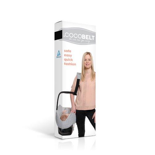 Cocobelt Sangle de Portage pour Groupe 0 Gris/Noir 60%OFF