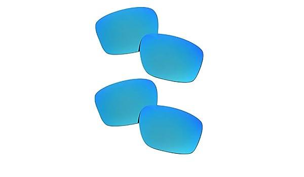 SOODASE Para Oakley Sliver Gafas de sol Azul 2 Pares Lentes de ...