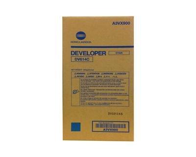 Konica Minolta A3VX900 DEVELOPER, CYAN, 1,200K YIELD by KONICA MINOLTA