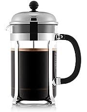 Bodum Chambord 3 Cup French Press Coffee Maker, 12 oz, Chrome